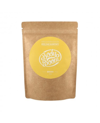 body boom coffee scrub banana 30g