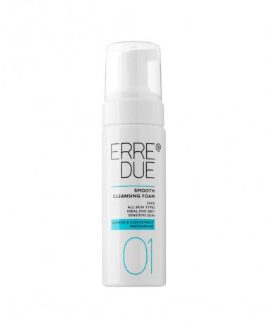 ERRE DUE SMOOTH CLEANSING FOAM 150ml