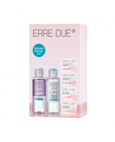 ERRE DUE PROMO TRAVEL SET PINK