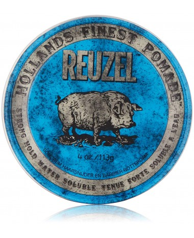 REUZEL STRONG HOLD HIGH SHEEN BLUE POMAD...