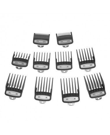 WAHL PREMIUM ATTACHMENT COMBS 10PCS