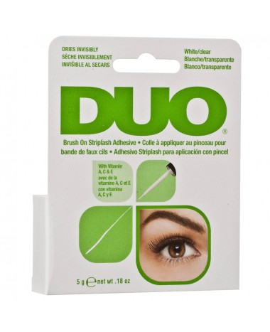 DUO BRUSH ON STRIPLASH ADHESIVE clear 5G