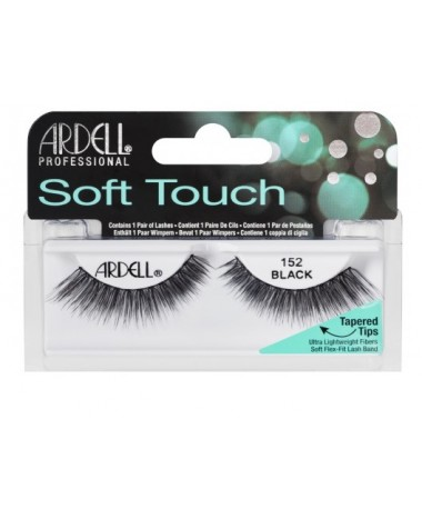 ARDELL SOFT TOUCH LASHES BLACK 152