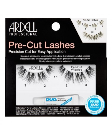 ardell pre-cut lashes wispies