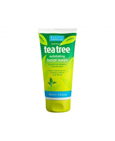 BEAUTY FORMULAS TEA TREE EXFOLIATING FAC...