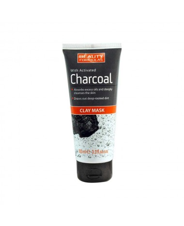 BEAUTY FORMULAS CLAY MASK WITH ACTIVATED...