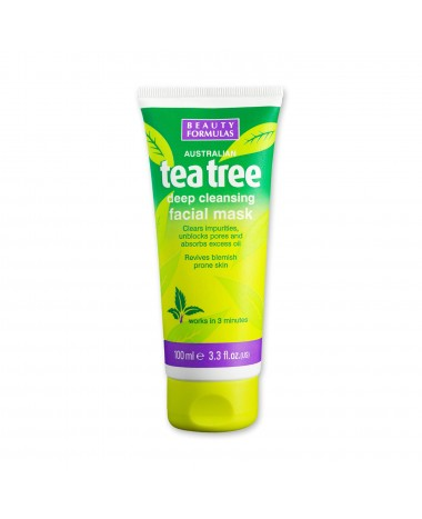 BEAUTY FORMULAS TEA TREE DEEP CLEANSING ...