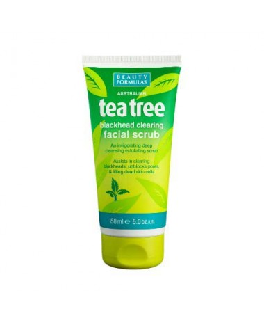BEAUTY FORMULAS TEA TREE BLACKHEAD CLEAR...