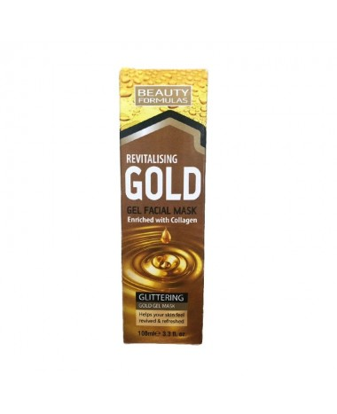 BEAUTY FORMULAS REVITALISING GOLD GEL FA...