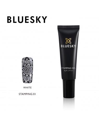 BLUESKY STAMPING WHITE 01 8G