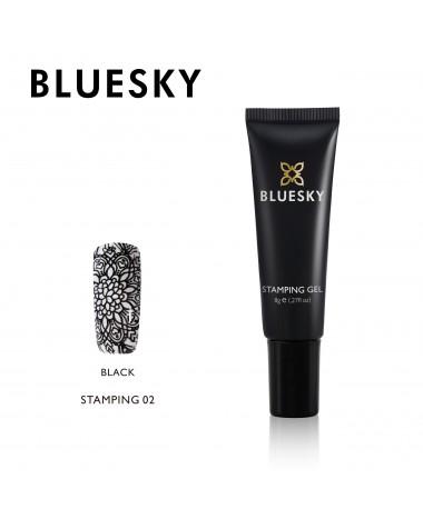BLUESKY STAMPING BLACK 02 8G