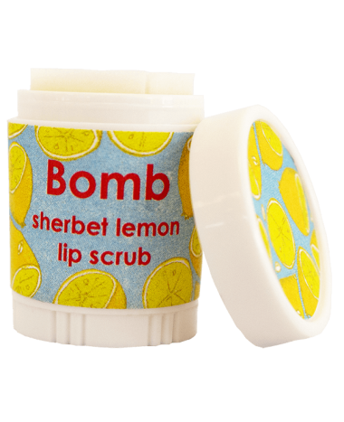 BOMB COSMETICS LIP SCRUB SHERBET LEMON 4...