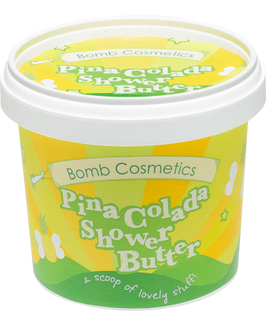 Bomb Cosmetics Pina Colada Shower Butter...