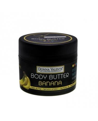 DONNA VALENTE BODY BUTTER BANANA 210ML