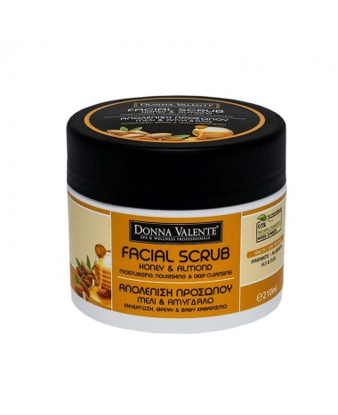 DONNA VALENTE FACIAL SCRUB HONEY & A...