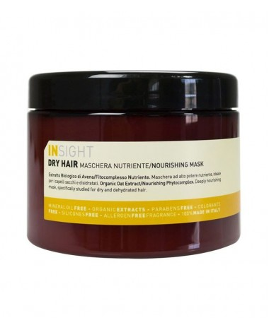 INSIGHT DRY HAIR NOURISHING MASK 500ML