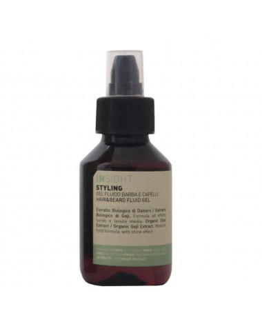 insight styling hair&beard fluid gel...