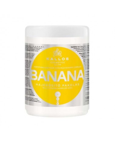 KALLOS Banana Fortifying Hair Mask 1000m...