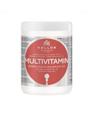 KALLOS Multivitamin Energising hair mask...