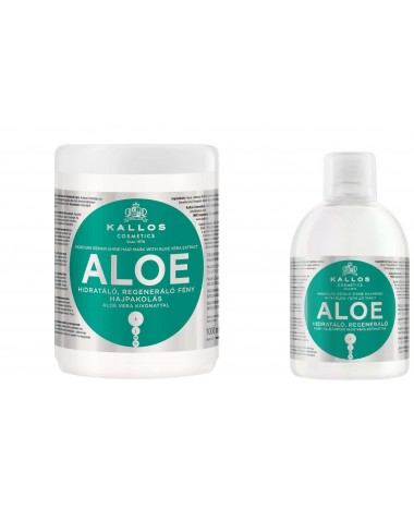 KALLOS HAIR MASK & SHAMPOO ALOE 1000...