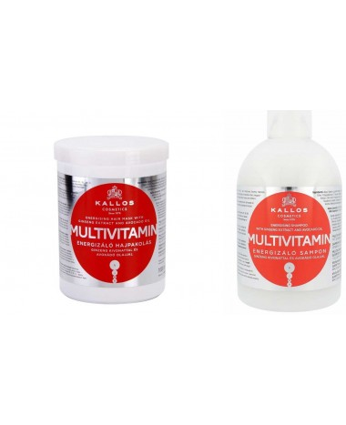 KALLOS HAIR MASK & SHAMPOO MULTIVITA...