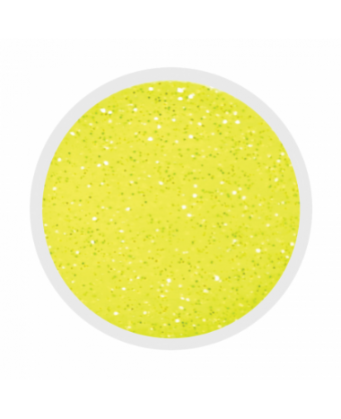 NAIL ART GLITTER DUST YELLOW 3G