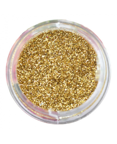 NAIL ART GLITTER DUST GOLD 3G