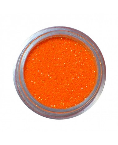 NAIL ART GLITTER DUST ORANGE 3G