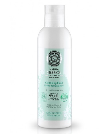 NATURA SIBERICA CLEANSING FLUID 200ML