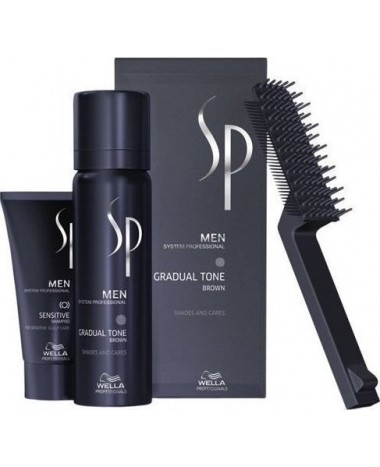 WELLA SP MEN GRADUAL TONE ΚΑΣΤΑΝΟ  60 ML...