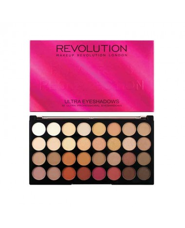 Revolution Ultra 32 Eyeshadow Palette Fl...