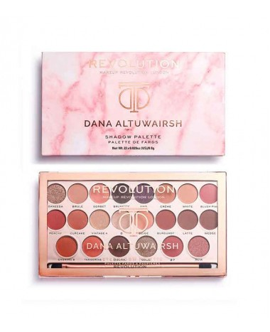 MAKEUP REVOLUTION DANA ALTUWAIRSH 22 SHA...