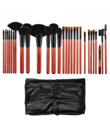 TOOLS FOR BEAUTY MAKE - UP BRUSH SET 28P...