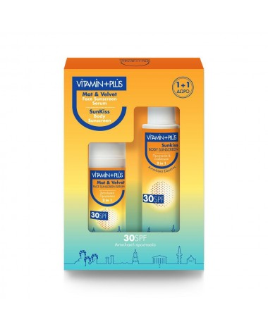 VITAMIN PLUS SPF 30 1+1 PACK 150ML ( MAT...