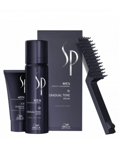 WELLA SP MEN GRADUAL TONE ΜΑΥΡΟ 60ML...
