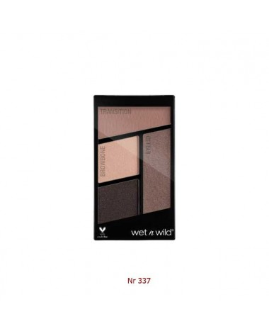 WET N WILD Color Icon Eyeshadow Quads - ...