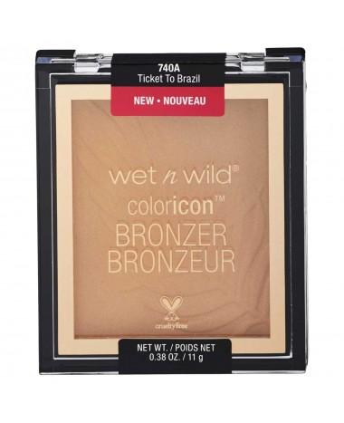 Wet n Wild Color Icon Bronzer Ticket to ...
