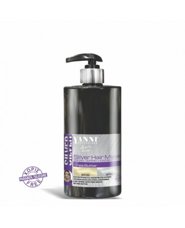 yanni extensions silver hair mask 500ml