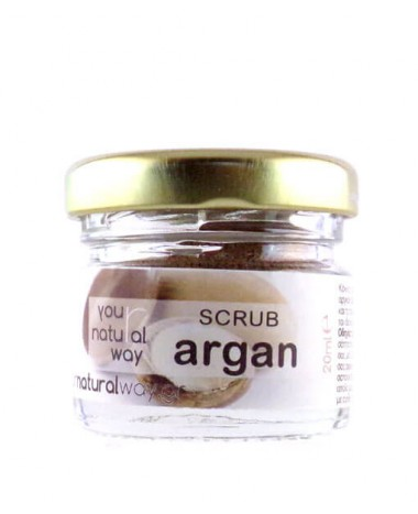 YOUR NATURAL WAY ARGAN SCRUB 20ML