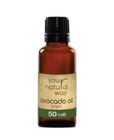YOUR NATURAL WAY AVOCADO OIL VIRGIN 50ML